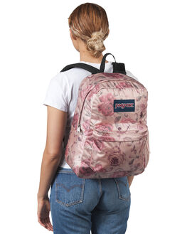 ROSE SMOKE GARDEN WOMENS ACCESSORIES JANSPORT BAGS + BACKPACKS - JS0A3P69JS5Y6RSG
