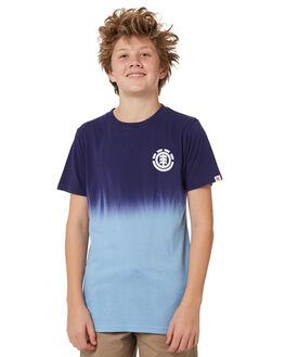 BLUE KIDS BOYS ELEMENT TEES - 383002BLU