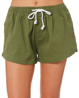 KHAKI WOMENS CLOTHING SWELL SHORTS - S8188107KHAKI