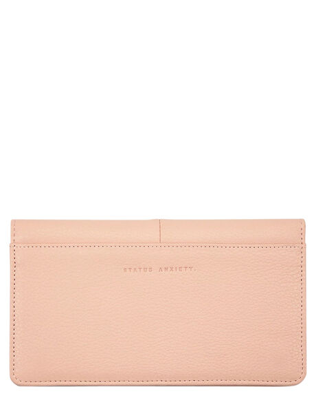 DUSTY PINK WOMENS ACCESSORIES STATUS ANXIETY PURSES + WALLETS - SA1404DSTPK