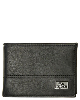 BLACK MENS ACCESSORIES RIP CURL WALLETS - BWUJU20090