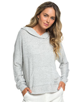 HERITAGE HEATHER WOMENS CLOTHING ROXY JUMPERS - ERJKT03544-SGRH