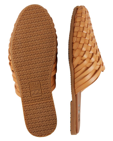 TAN WOMENS FOOTWEAR BILLABONG SLIDES - BB-6603814-TAN