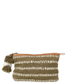 OLIVE WOMENS ACCESSORIES TIGERLILY PURSES + WALLETS - T493970OLV