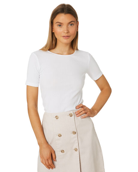 WHITE WOMENS CLOTHING THE FIFTH LABEL TEES - 40190187WHI