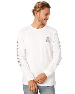 VINTAGE WHITE MENS CLOTHING RVCA TEES - R174095VWHT