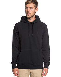 BLACK MENS CLOTHING QUIKSILVER JUMPERS - EQYFT03846-KVJ0
