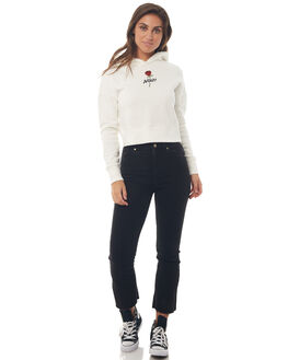WHITE WOMENS CLOTHING AFENDS JUMPERS - W181504WHT