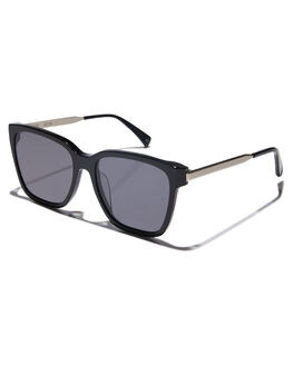 GLOSS BLACK MENS ACCESSORIES OSCAR AND FRANK SUNGLASSES - 021BLGBLK