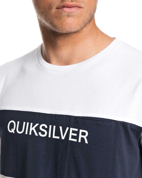 NAVY BLAZER MENS CLOTHING QUIKSILVER TEES - EQYKT03936-BYJ0