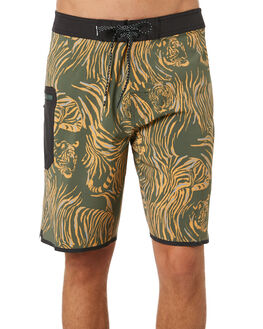 MILITARY GREEN MENS CLOTHING RIP CURL BOARDSHORTS - CBONQ90854