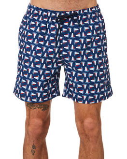 NAVY MENS CLOTHING ACADEMY BRAND BOARDSHORTS - 20S732NVY