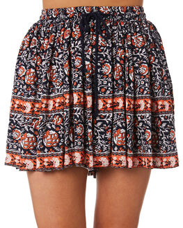 MIDNIGHT OUTLET WOMENS THE HIDDEN WAY SHORTS - H8184233MID