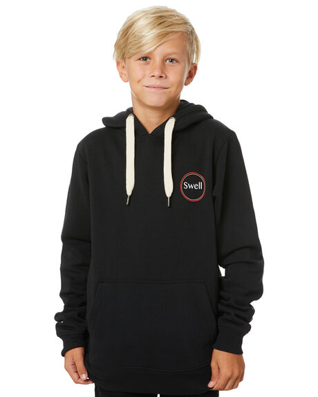 BLACK KIDS BOYS SWELL JUMPERS + JACKETS - S3203442BLACK