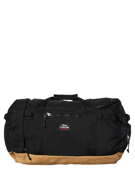 BLACK MENS ACCESSORIES DEUS EX MACHINA BAGS + BACKPACKS - DMF87385BLK