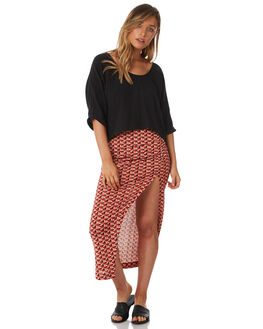 MULTI WOMENS CLOTHING TIGERLILY SKIRTS - T382281MUL