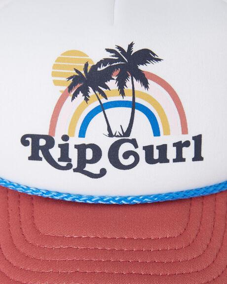 ROSE RED KIDS GIRLS RIP CURL HEADWEAR - FCABI13435