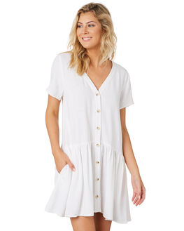 WHITE WOMENS CLOTHING MINKPINK DRESSES - MP1903465WHT