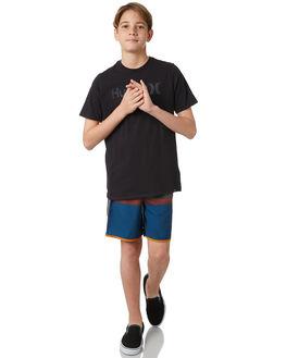 BLACK KIDS BOYS HURLEY TEES - AO2239010