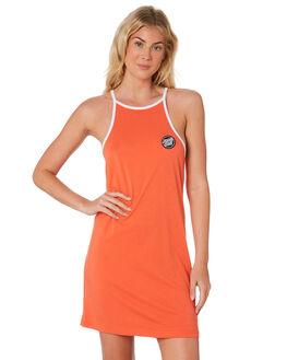 CORAL OUTLET WOMENS SANTA CRUZ DRESSES - SC-WDD7484CRL