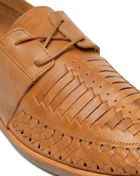 TAN OILY LEATHER MENS FOOTWEAR URGE FASHION SHOES - URG19026TOL