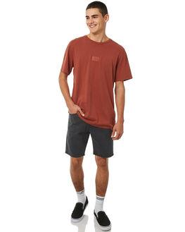 RUST MENS CLOTHING RVCA TEES - R181061RUST