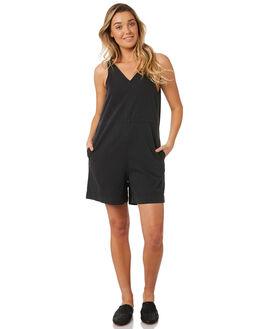 BLACK WOMENS CLOTHING NEUW PLAYSUITS + OVERALLS - 38061BLACK