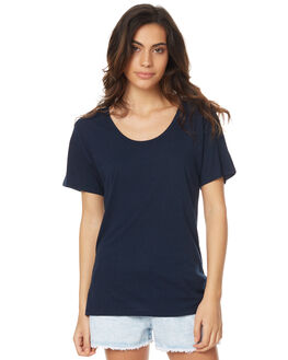 NAVY WOMENS CLOTHING SWELL TEES - S8174001NAVY