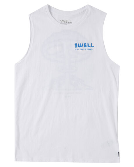 WHITE KIDS BOYS SWELL TOPS - S3222272WHT