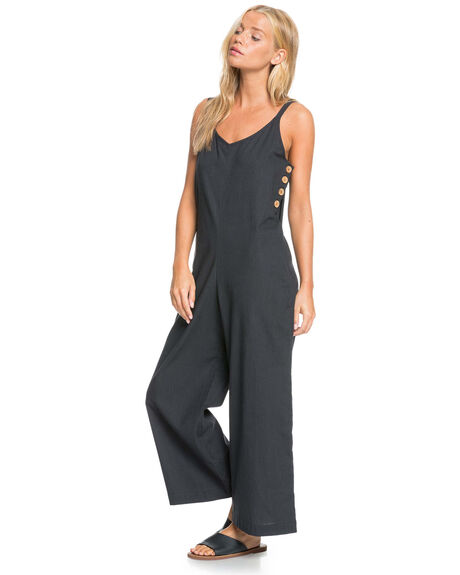 ANTHRACITE WOMENS CLOTHING ROXY PLAYSUITS + OVERALLS - ERJWD03512-KVJ0
