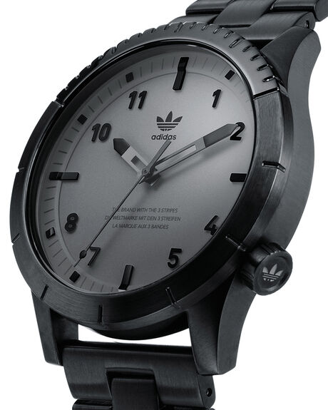 BLACK CHARCOAL MENS ACCESSORIES ADIDAS WATCHES - Z03-017-00BLKCH