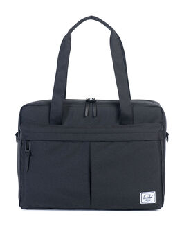 BLACK MENS ACCESSORIES HERSCHEL SUPPLY CO BAGS - 10236-00001-OS