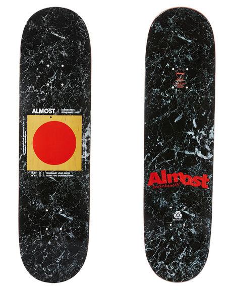 BLACK BOARDSPORTS SKATE ALMOST DECKS - 10023725BLK
