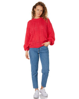POP PINK WOMENS CLOTHING THE HIDDEN WAY KNITS + CARDIGANS - H8194146POPNK