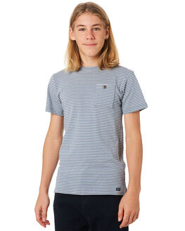 BLUE HAZE KIDS BOYS ACADEMY BRAND TOPS - B19W430BLUH