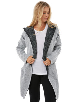 LIGHT GREY WOMENS CLOTHING RIP CURL KNITS + CARDIGANS - GSWGH11201