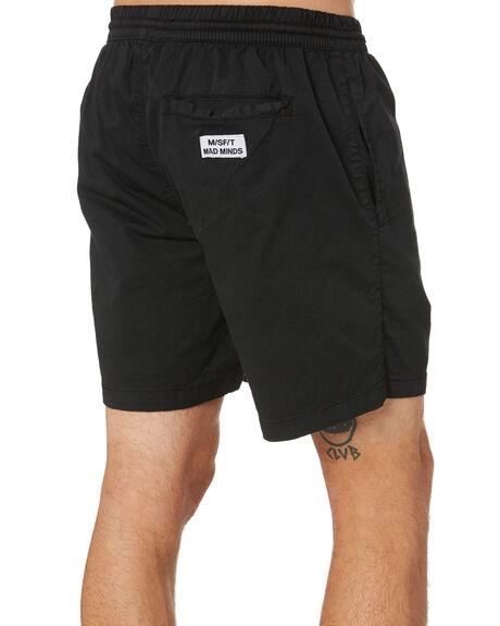 PIGMENT BLACK MENS CLOTHING MISFIT SHORTS - MT011606PMBLK