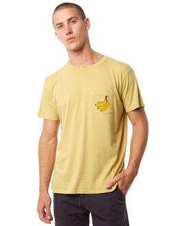 MUSTARD MENS CLOTHING MOLLUSK TEES - MS1558MSTRD