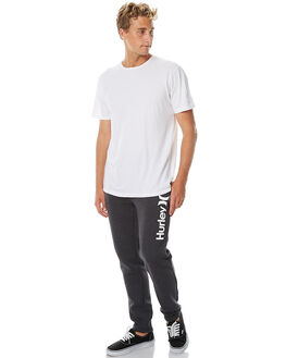 HEATHER BLACK MENS CLOTHING HURLEY PANTS - AMPTSCOHBK