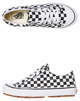CHECK WHITE WOMENS FOOTWEAR VANS SNEAKERS - SSVNA3MVHQXHW