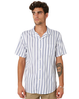 WHITE MENS CLOTHING ACADEMY BRAND SHIRTS - 20S830WHT