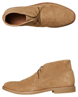COFFEE MENS FOOTWEAR ACADEMY BRAND BOOTS - 18W011CFE