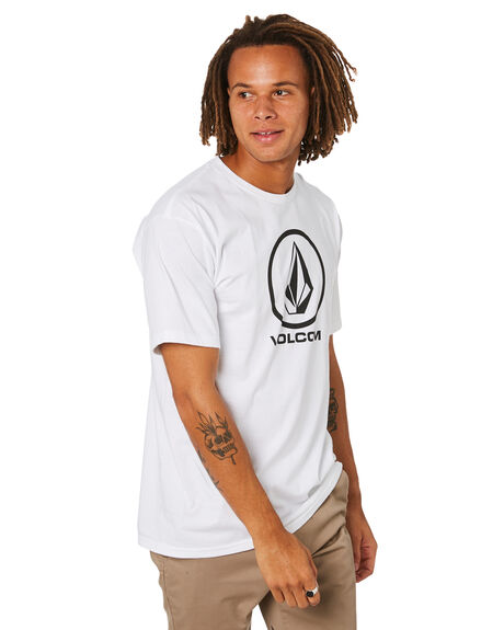 WHITE MENS CLOTHING VOLCOM TEES - A3511800WHT