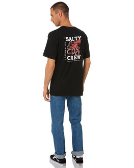 BLACK MENS CLOTHING SALTY CREW TEES - 20035252BLK