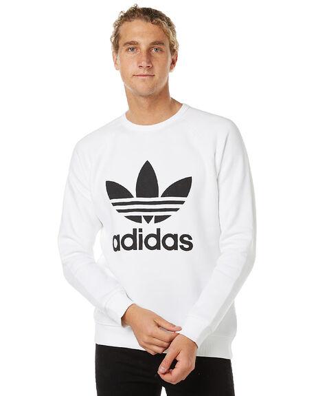 Adidas Originals Trefoil Crew blanco surfstitch