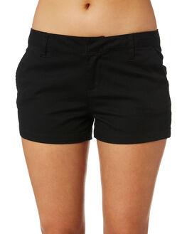 BLACK WOMENS CLOTHING VOLCOM SHORTS - B0911800BLK