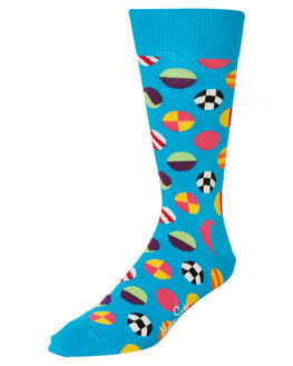 BLUE DOT MENS CLOTHING HAPPY SOCKS SOCKS + UNDERWEAR - CLD01-6700BLDOT