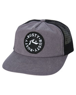 GUNMETAL KIDS BOYS RUSTY HEADWEAR - HCB0348GUN