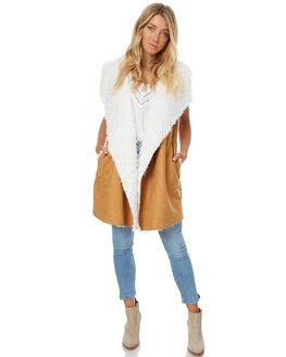 CAMEL WOMENS CLOTHING SOMEDAYS LOVIN JACKETS - SL1609080CAM
