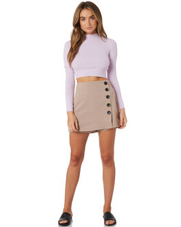 LILAC WOMENS CLOTHING TWIIN KNITS + CARDIGANS - IE19S1802LILAC